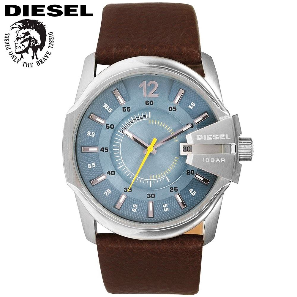 3bd806cfa23b Reloj Diesel Mega Chief DZ1399 Acero Inoxidable Correa De Cuero - Marrón