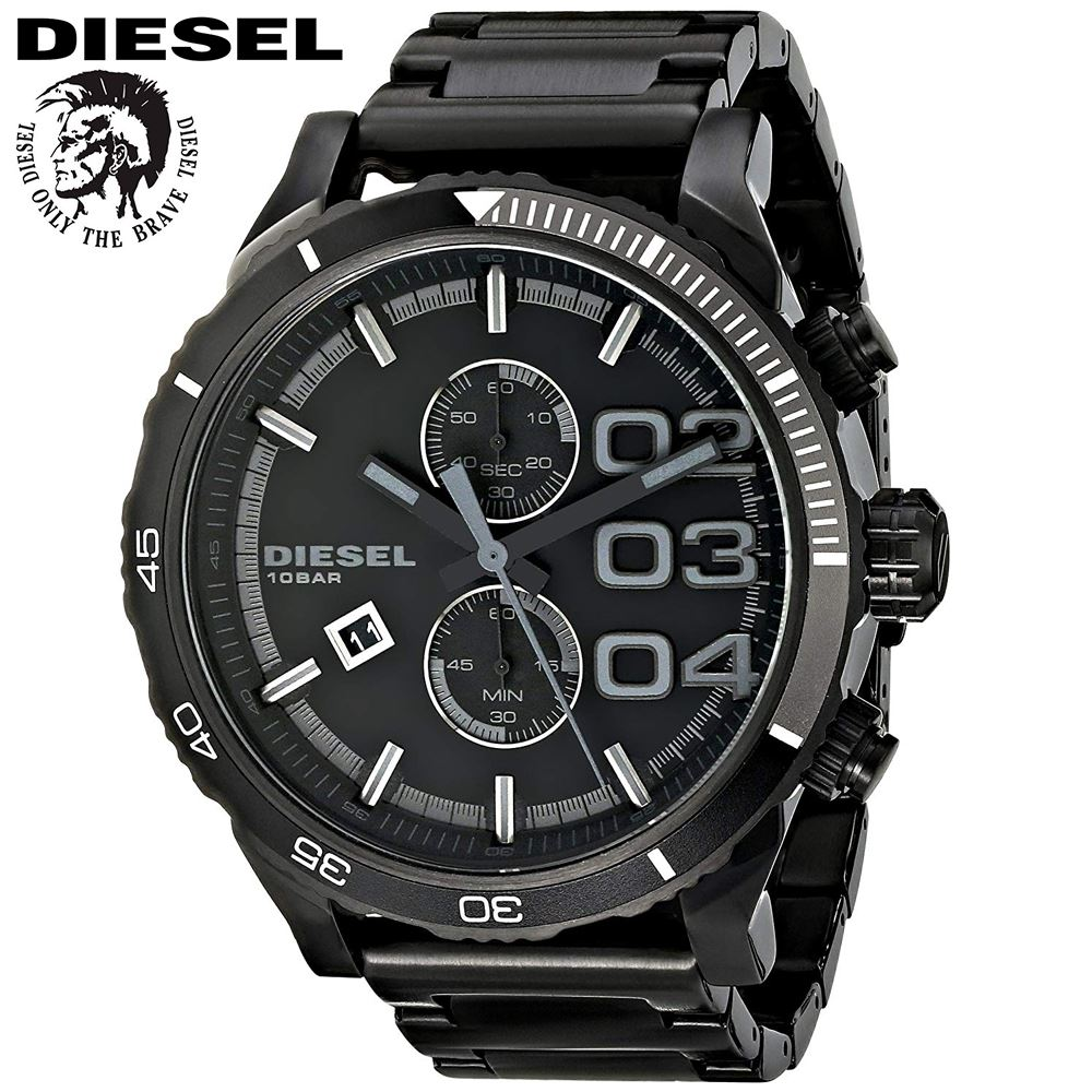 8d7e2df66fbd Reloj Diesel Double Down DZ4326 Cronometro Acero Inoxidable