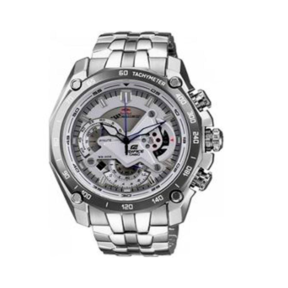 33a305423aac Reloj Casio Edifice EF-550RBSP-7AVDF Correa De Acero Inoxidable Para Hombre