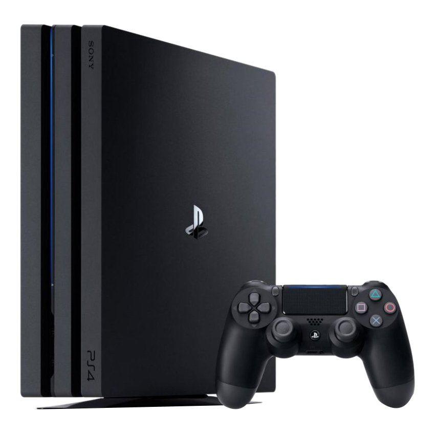 Consola PS4 PRO 1TB + 2 Controles V2 + PES19 + Uncharted 4 + BalonN.5