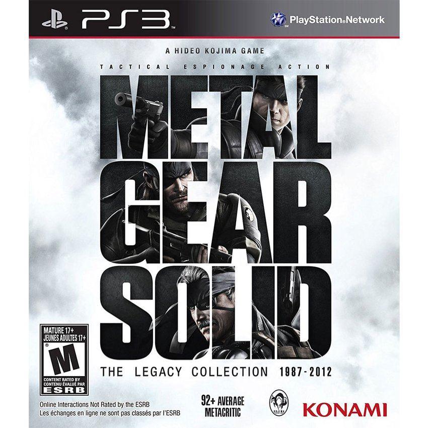 Videojuego Metal Gear Solid ps3