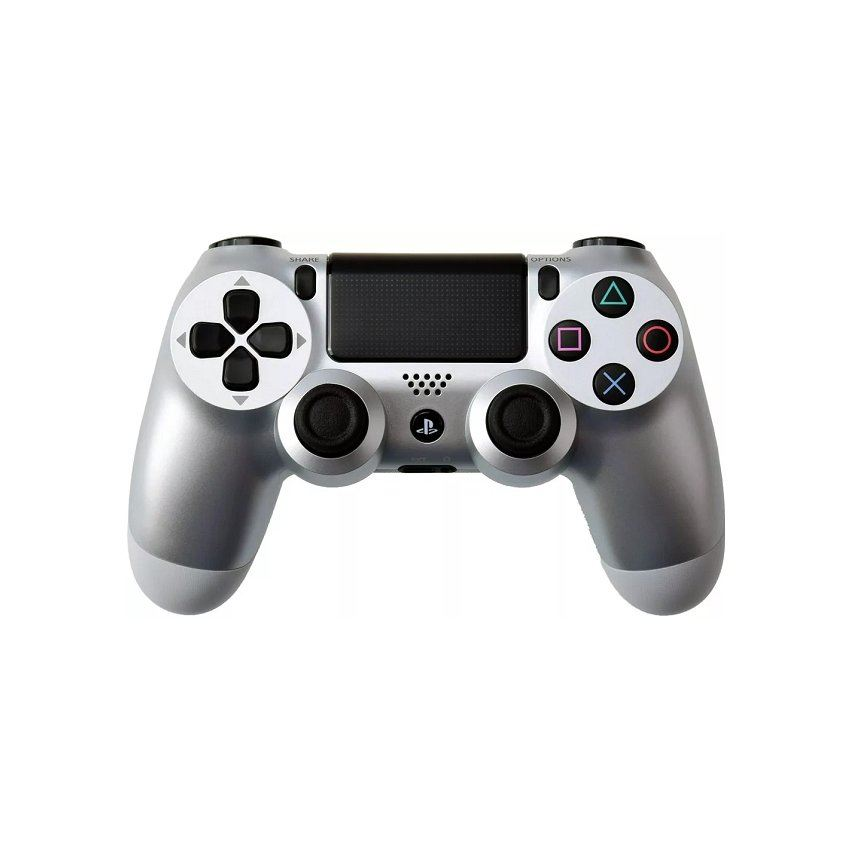 Control Wireless Dualshock PS4 Plateado Silver