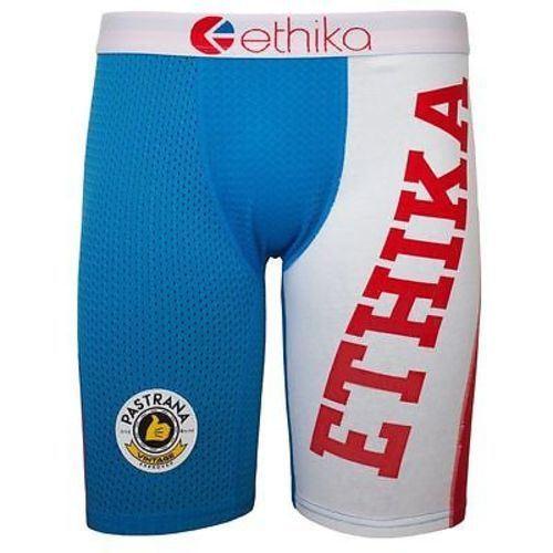 4b2da6ddf8 ETHIKA - Ropa Interior Boxer Pastrana Vintage rojo azul