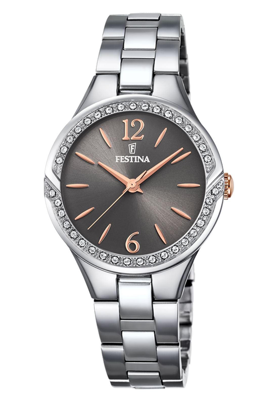 38e7281b3868 Reloj F20246 2 Plateado Festina Mujer Mademoiselle
