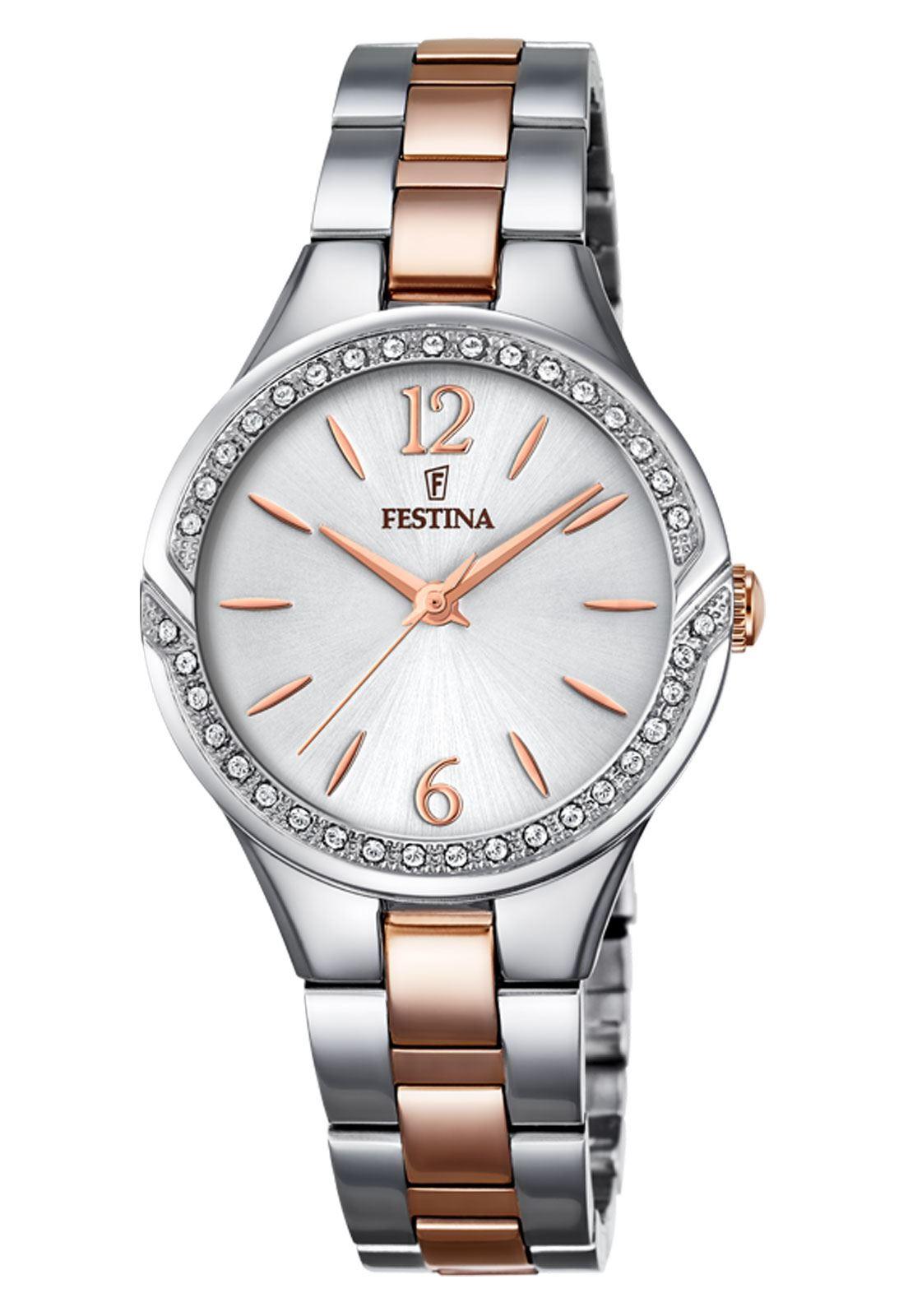 29316e65e7b7 Reloj F20247 1 Plateado Festina Mujer Mademoiselle