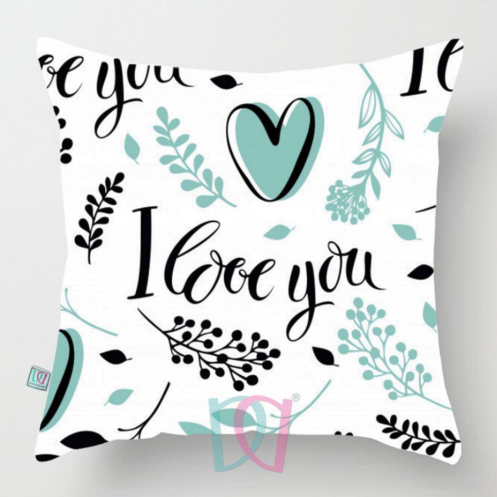 Cojín decorativo Flora-Love