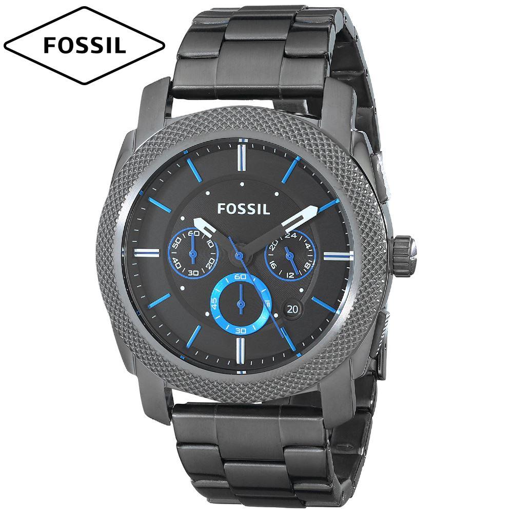 036a903d324d Reloj Fossil Machine FS4931 Cronometro Acero Inoxidable - Gunmetal ...