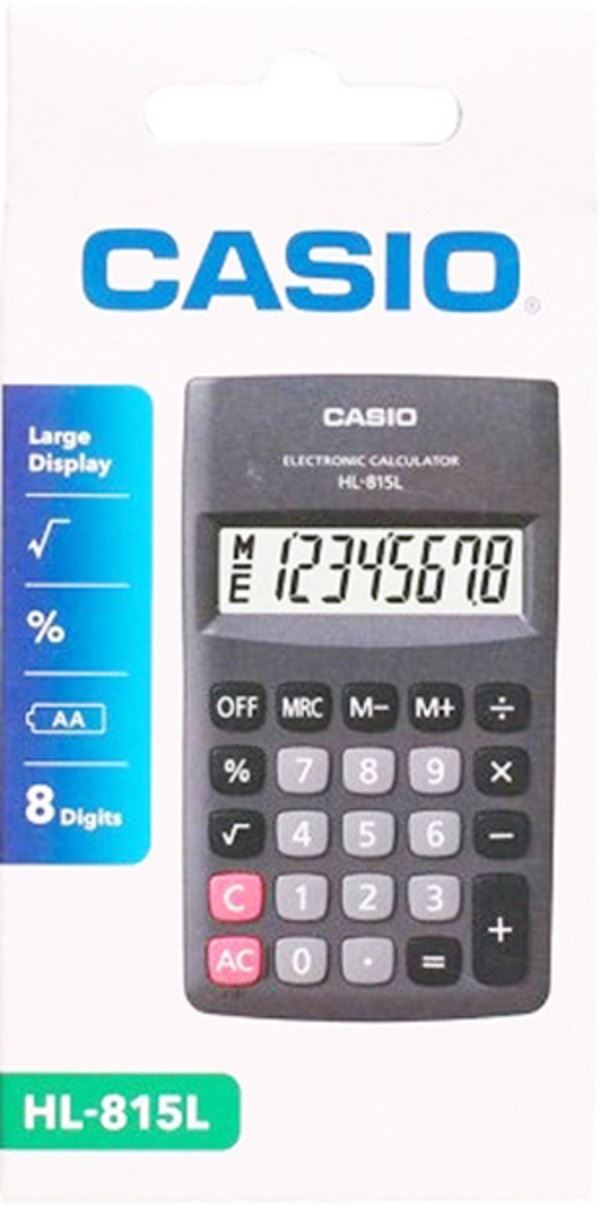 020f795e1be9 Calculadora Casio De Bolsillo Hl-815l8 Digitods