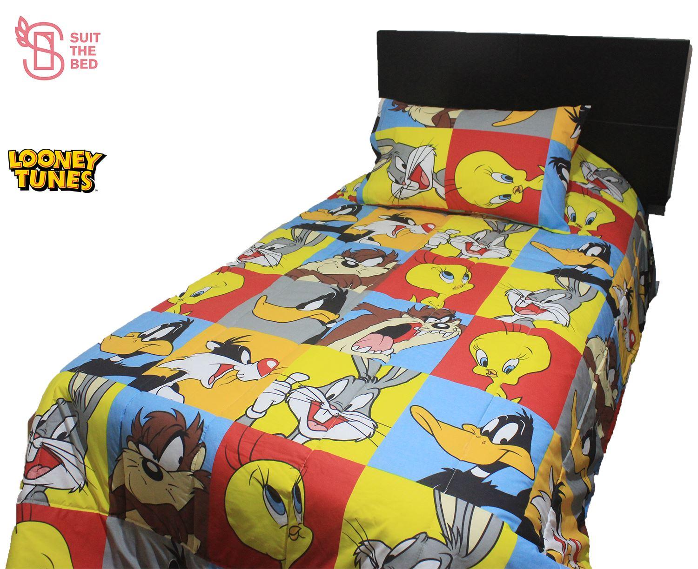 Edredón Lonney Tunes 1.5 plazas   Suit The Bed | Juntoz.com