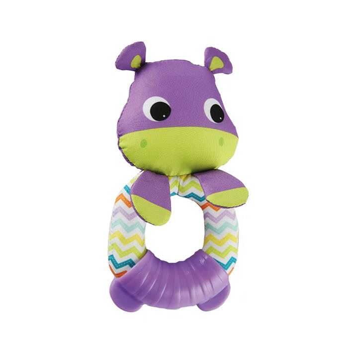 Mordedor Sonajero Bright Starts K10789  Hipopotamo
