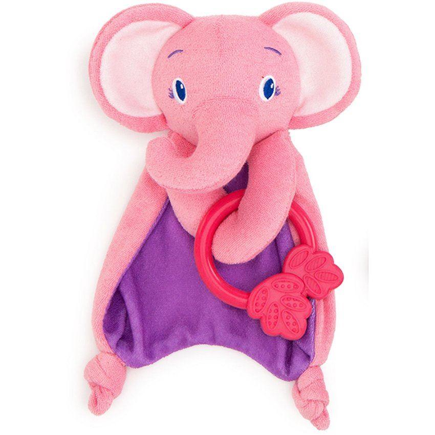 Manta Suave Con Mordedor Elefante Bright Starts 40005-R