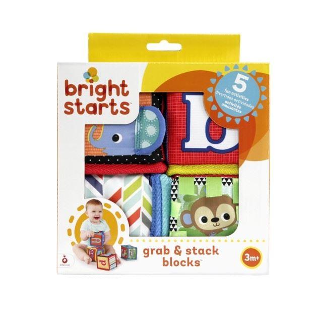 Bloques De Estimulación 3d X4 Bright Starts K52160