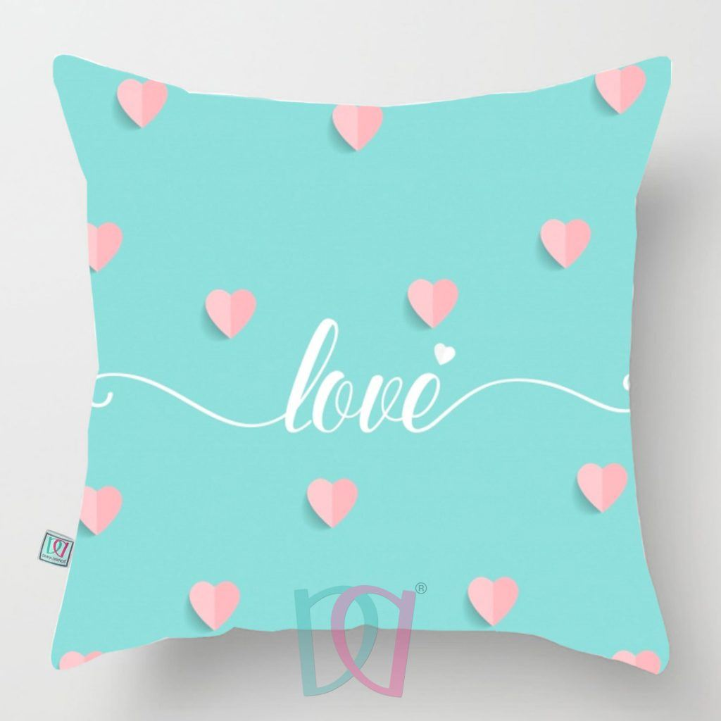 Cojín decorativo Love Mint