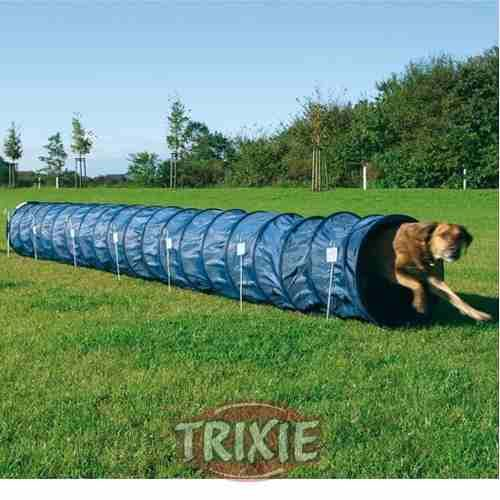 Tunel Agility Dog Activity Perros Trixie Nylon 5 Mts