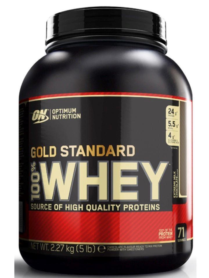 Gold Standard 100% Whey 5 lb - Proteína Concentrada & Aislada