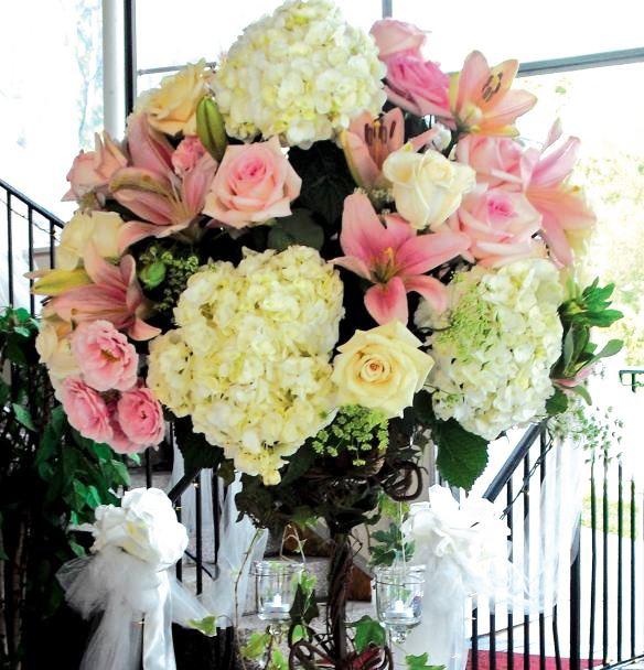 Arreglo Floral Centro De Mesa Mediano Juntozcom