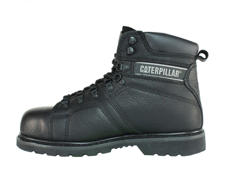 Caterpillar - Botines De Cuero Silverton Suregrip® P73955 Hombre Negro  caac4218c8ed