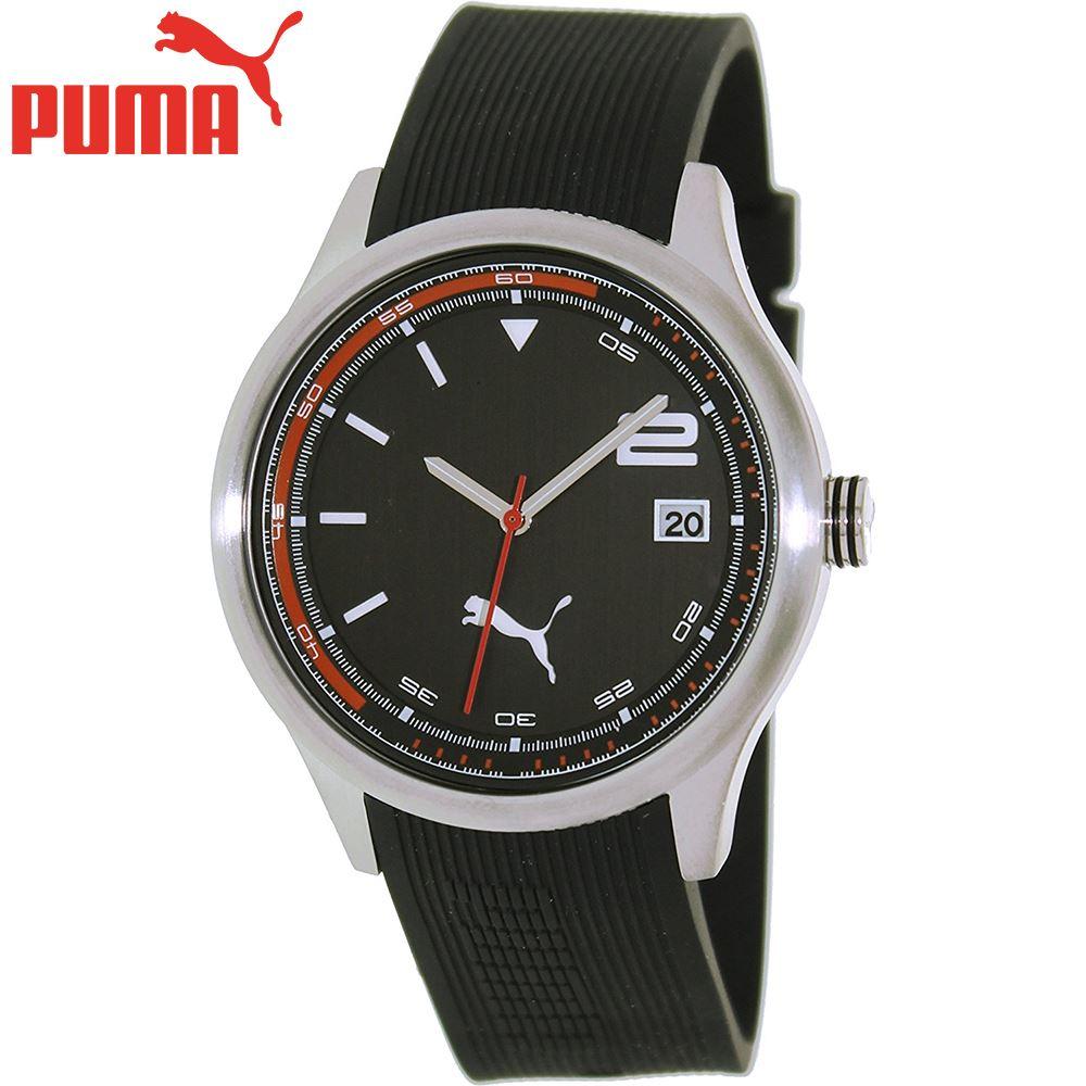 métrico equipaje Amado  Reloj Puma Wheel 3HD PU102731007 Acero Inoxidable Correa De ...