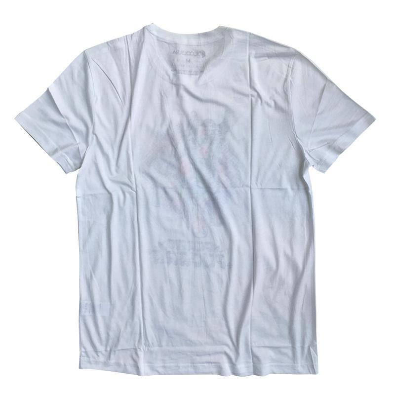 e35e29ac9211ef Polo Hombre Torito Blanco Estampado 100% Algodón Jersey Pima Peinado |  Juntoz.com
