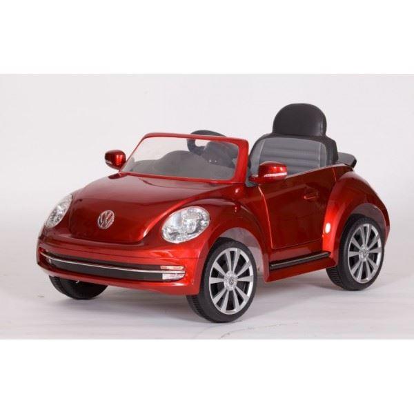 Infanti Carro A Bateria Vw Beetle 6v Rojo Juntoz Com