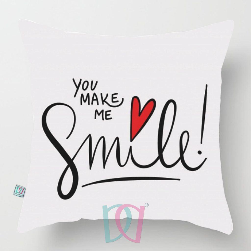 Cojín decorativo You Make me Smiles