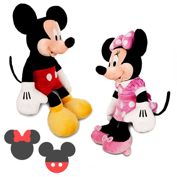 Peluche 40cm Peluches Minnie Juguete Mickey Mouse Disney trdshQC