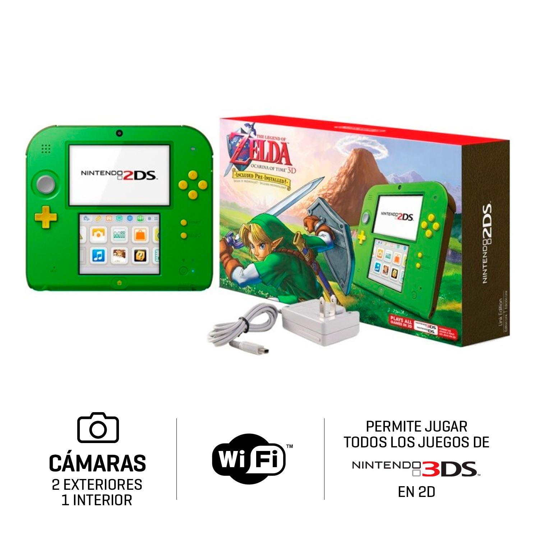 Consola Nintendo 2ds Zelda Ocarina Juntoz Com