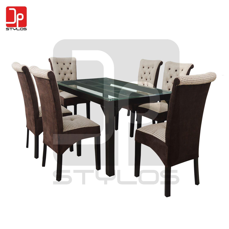 Juego de Comedor modelo Faraón 6 sillas | Juntoz.com