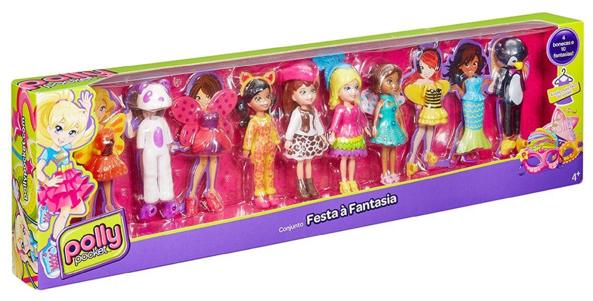 Polly Pocket Colección De Modas Fiesta De Disfraces | Juntoz.com