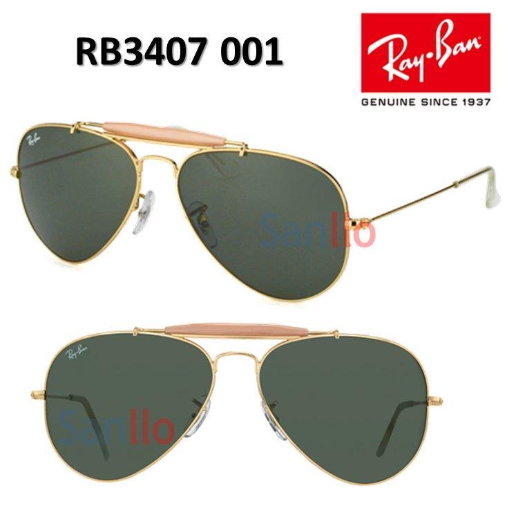 9e61d2d011 Lentes De Sol Ray Ban Outdoorsman II Rainbow RB3407 001