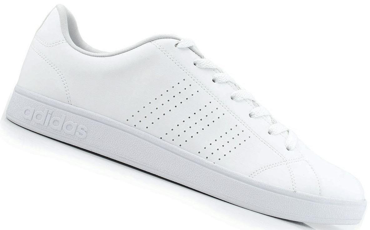 Adidas - Zapatilla para Hombre Advantage Vs Clean Blanco  b2380efdc494f